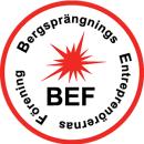 Bergsprängningsentreprenörerna i Sverige Ekonomi logo