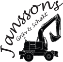 Janssons Gräv & Schakt, Bo logo