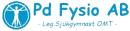 Pd Fysio AB / Petra Dahlberg Leg. Sjukgymnast OMT logo
