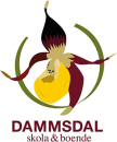 Dammsdal skola & boende logo