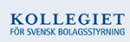 Kollegiet för Svensk Bolagsstyrning logo