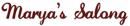 Marya's Salong logo