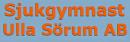 Sjukgymnast Ulla Sörum AB/Fysioterapeut logo