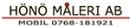 Hönö Måleri AB logo