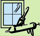 Auktoriserat Fönsterunderhåll logo