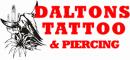 Daltons Tattoo & Piercing logo