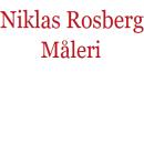 Niklas Rosberg Måleri logo