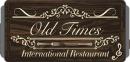 Old Times Restaurang logo
