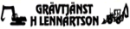 Grävtjänst H Lennartsson logo