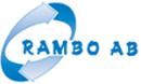 Rambo Lönndal Återvinningscentral logo