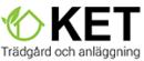 KET Trädgård och Anläggning logo