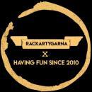 Rackartygarna logo