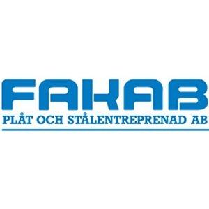 FAKAB Plåt o. Stålentreprenad AB logo