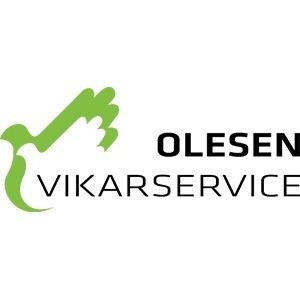 Olesen Vikarservice logo