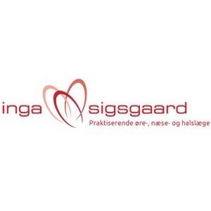 Øre-, næse- og halslægerne Sigsgaard og Grøn logo