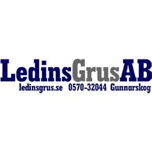 Ledins Grus AB logo