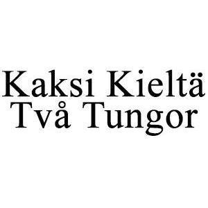 Kaksi Kieltä/Två Tungor logo