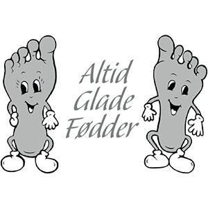 Altid Glade Fødder logo