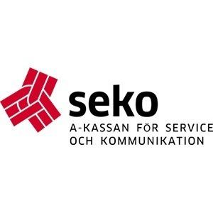A-kassan för Service och Kommunikation logo