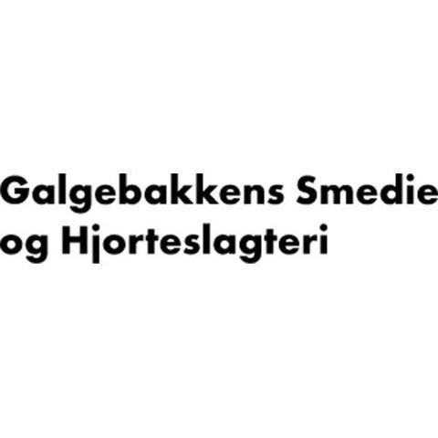 Galgebakkens smedie og hjortefarm logo