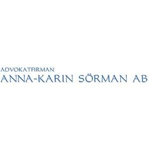 Advokatfirman Anna-Karin Sörman AB logo