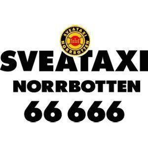 Sveataxi Norrbotten 66666 logo