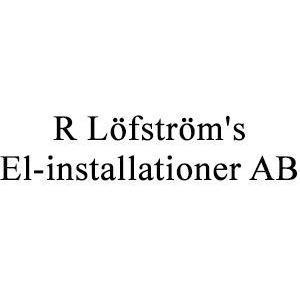 R Löfström's El-installationer, AB logo