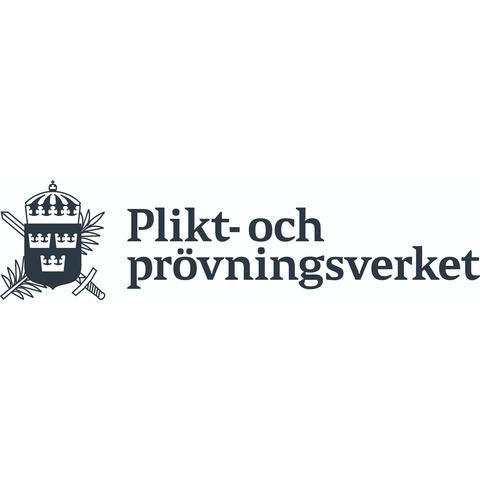 Plikt- och prövningsverket logo