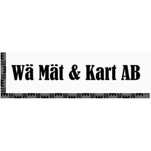 WÄ Mät & Kart AB logo