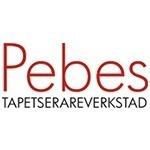 Pebes Tapetserareverkstad logo