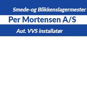 Smede- & Blikkenslagermester Per Mortensen A/S logo