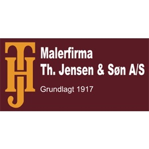 Malerfirmaet Th. Jensen & Søn A/S logo