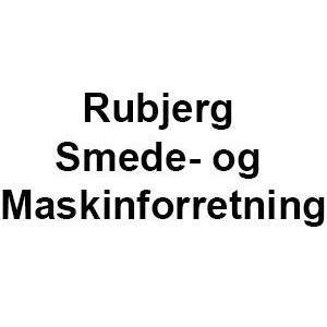 Rubjerg Smede- og Maskinforretning logo