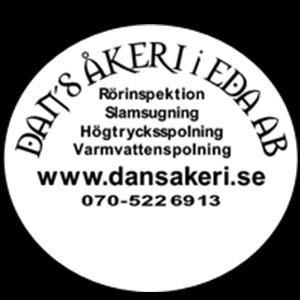 Dans Åkeri i Eda AB logo