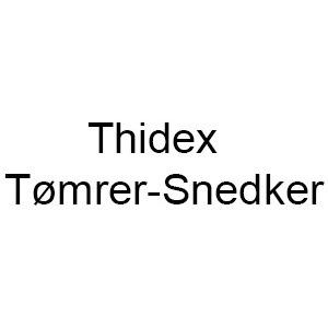 Thidex Tømrer-Snedker logo