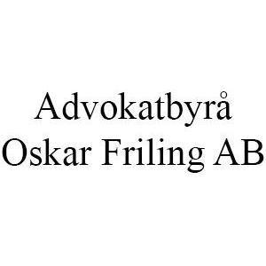 Advokatbyrå Oskar Friling AB logo