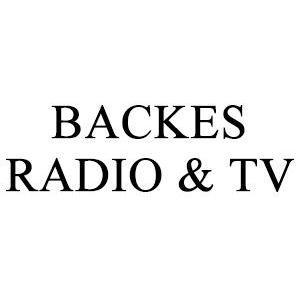 Backes Radio-TV HB logo