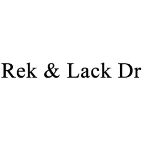 Rek & Lack Dr logo
