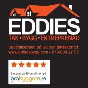 Eddies Tak Bygg & Entreprenad AB logo