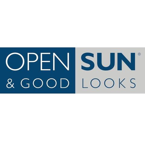 Open Sun drop in solarium logo