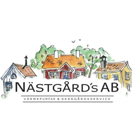 Nästgårds Värmepumpar & Skärgårdsservice logo