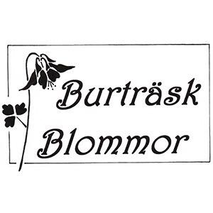 Burträsk Blommor logo