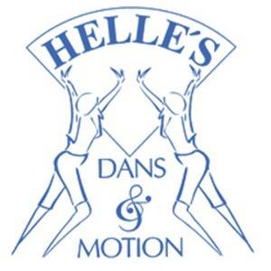 Helle's Dans & Motion logo