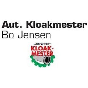 Kloakmester Bo Jensen logo