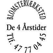 Blomsterværkstedet De 4 Årstider logo