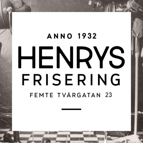 Henrys Frisering logo