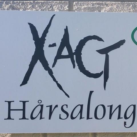 X-act Hårsalong logo