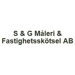 S & G Måleri o. Fastighetsskötsel AB logo
