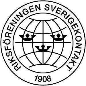 Riksföreningen Sverigekontakt logo