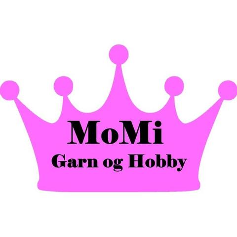 Momi Garn og Hobby AS logo